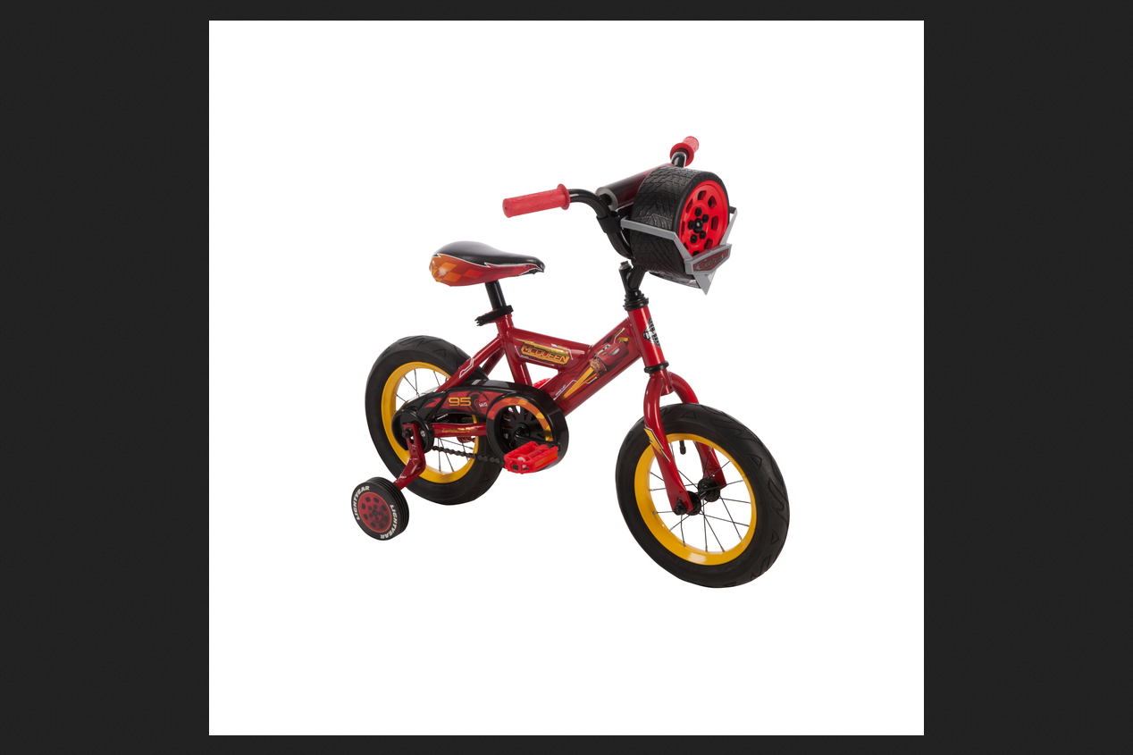 Huffy 12 in. Disney Cars 3 Bike with Race-Ready Tire Case by Huffy