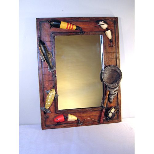 Judith Edwards Designs Fish Lure Mirror