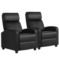 Deals on Topeakmart 2pcs Adjustable Recliner Chair