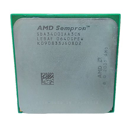 Refurbished AMD Sempron 3400+ 1.8GHz Socket AM2 800MHz Desktop CPU SDA3400IAA3CN