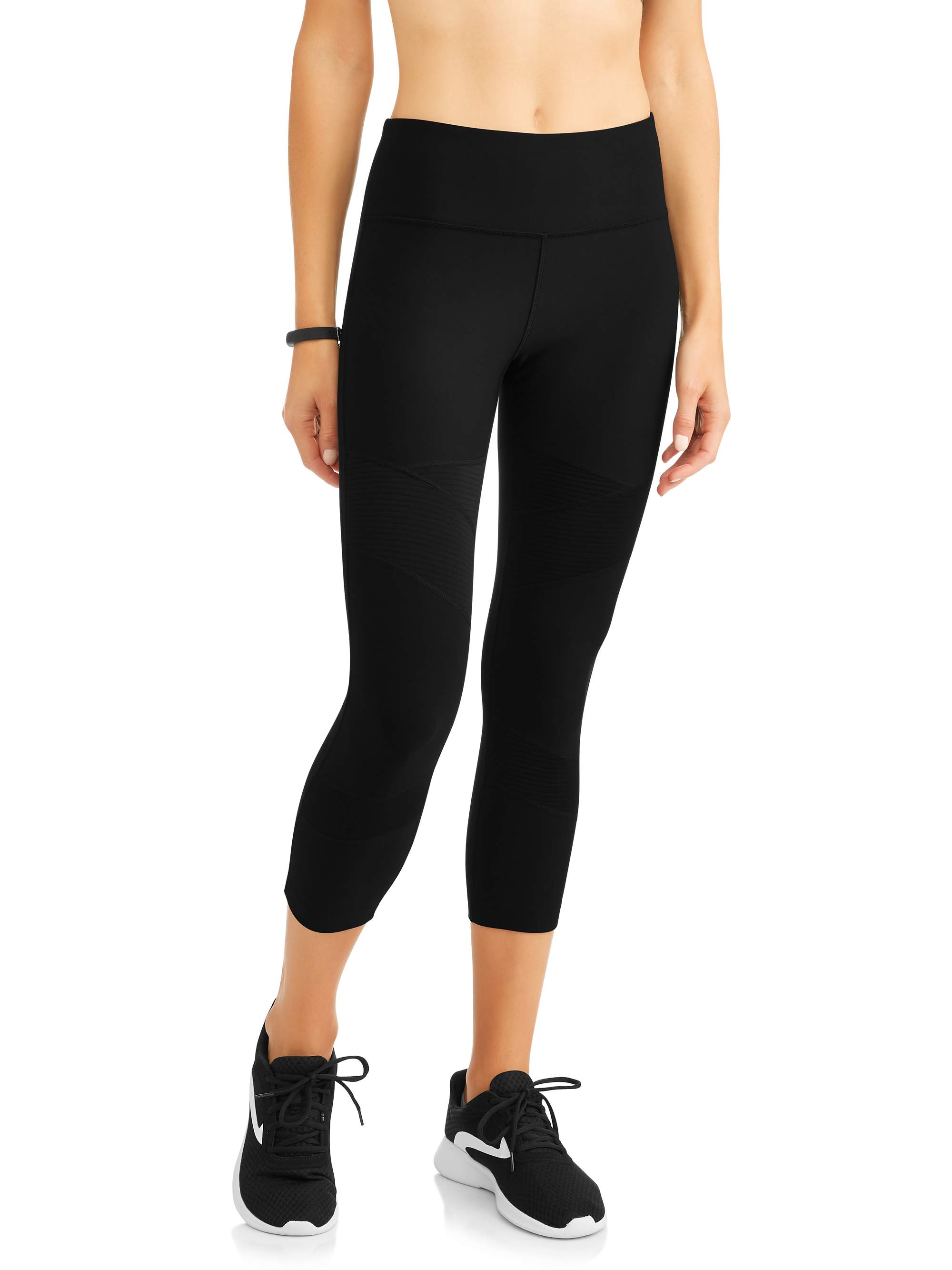 f317aa6c1264b Avia Women's Active Mesh Insert Performance Capri Leggings – Walmart ...