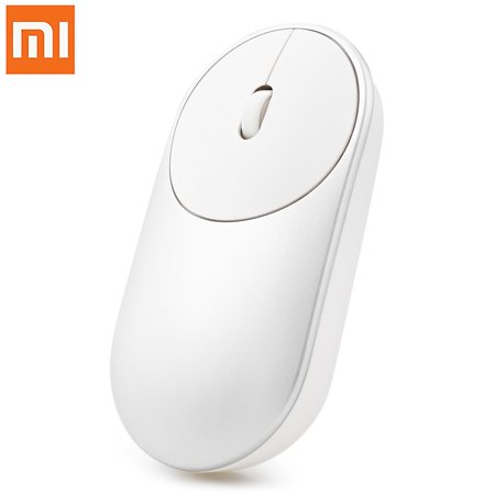 Xiaomi Portable Wireless Optical Mouse Bluetooth 4 0 Rf 2 4Ghz Dual Mode Connect Mi Mouse For Laptop Pc