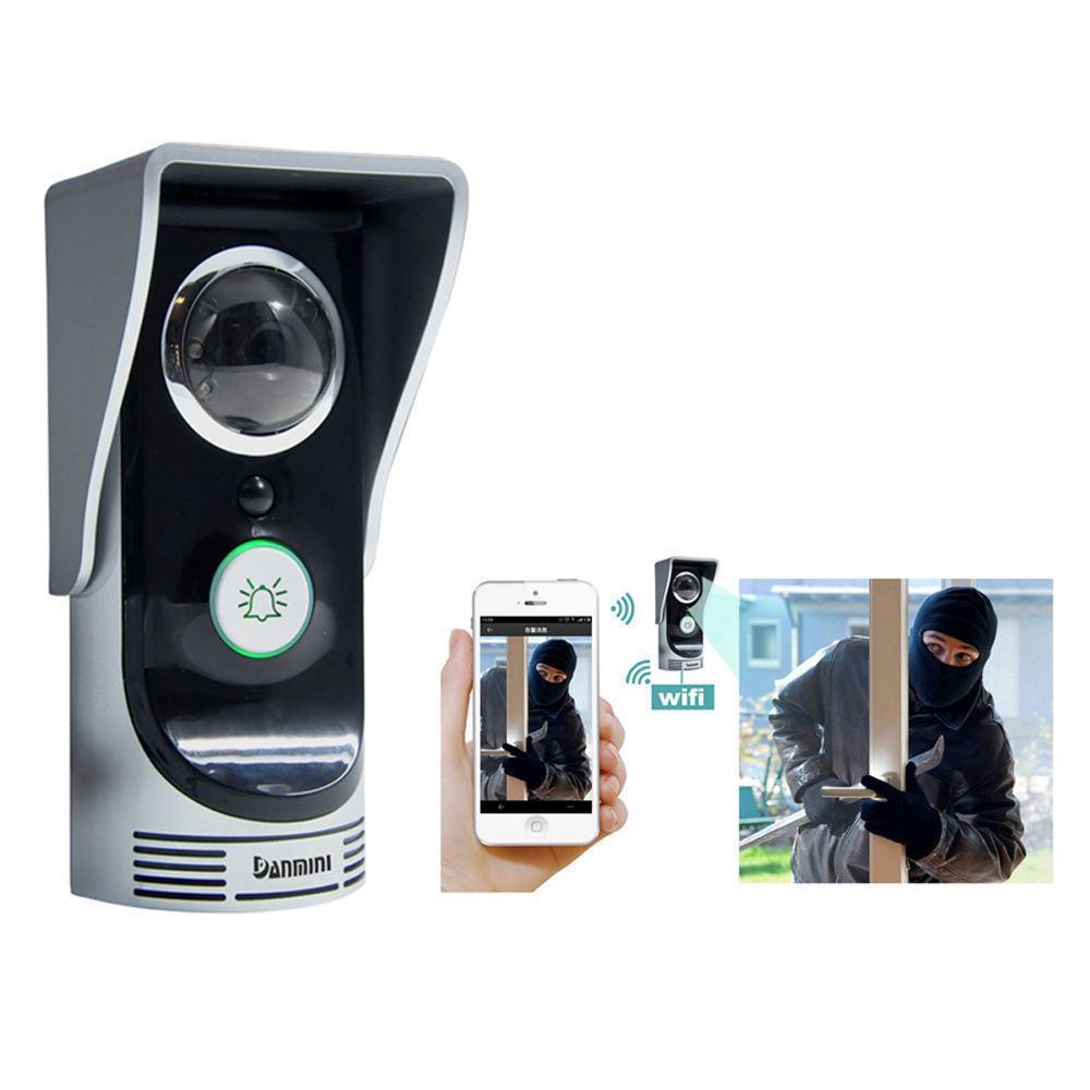 Smart Wireless WiFi Remote Video IR Camera Doorbell Alarm System Motion Sensor for Home Security by Musiccrazy