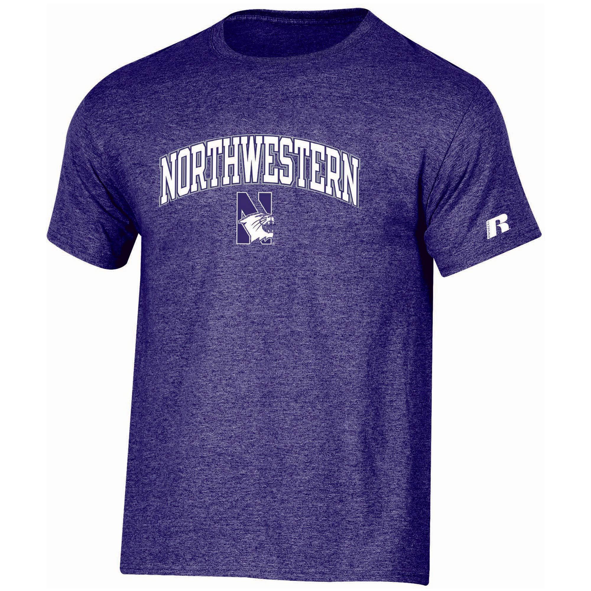 Men's Russell Purple Northwestern Wildcats Core Print T-Shirt