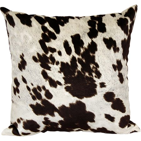 Better homes and gardens faux hide decorative pillow - Better homes and gardens pillows ...