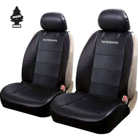 New Pair of Nissan Logo Universal Sideless Seat Cover w/ HeadRest and Air