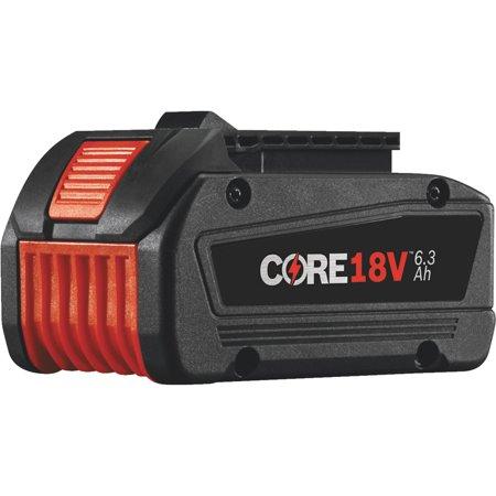 BOSCH GBA18V63 18.0V Li-Ion Battery, 6.3Ah Capacity