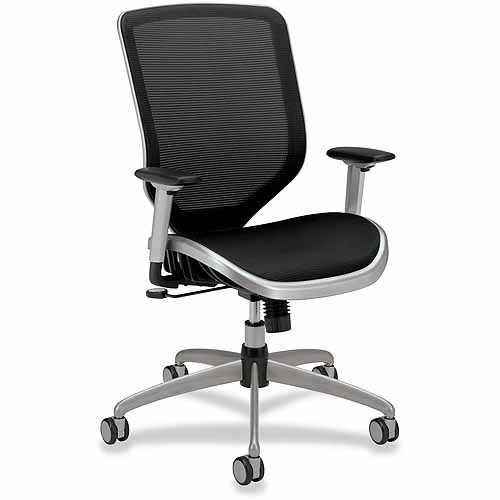 HON High-Back Mesh Executive Chair, Black