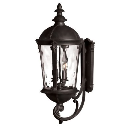 Hinkley Lighting 1895Bk 32  Height 4 Light Lantern Outdoor Wall Sconce In Black