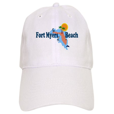 CafePress - Fort Myers Beach FL - Printed Adjustable Baseball (The Hut Fort Myers Fl)
