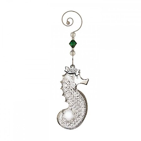 (Waterford Crystal 2015 Annual Seahorse Ornament)