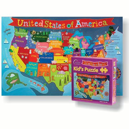 UNITED STATES JIGSAW PUZZLE FOR KID - Jigsaw Puzzles For Kids