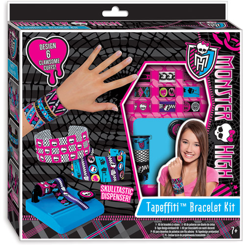 Fashion Angels Monster High Tapeffiti Bracelet Kit