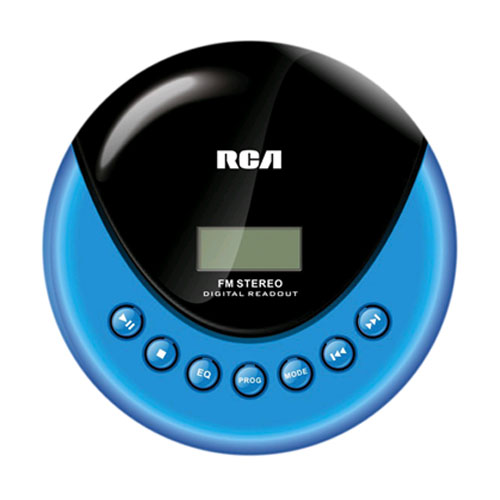 Rca Rp3013 Cd Player - Blue, Black Lcd - Fm Tuner