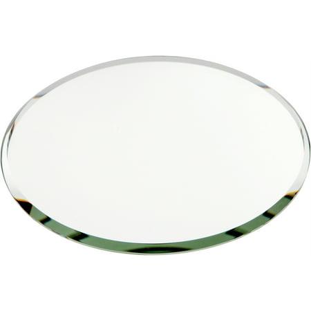 Beveled Glass Mirror, Round 3mm - 4