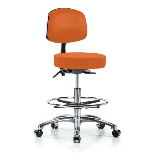 Perch Chairs & Stools Height Adjustable Doctor Stool with...