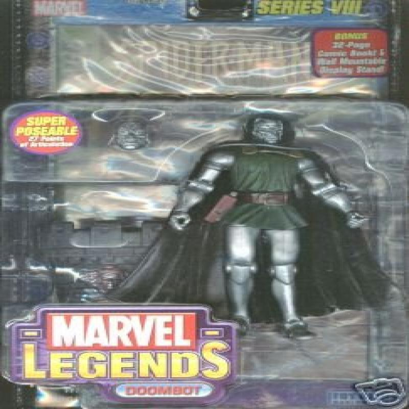 Toy Biz Marvel Legends Series 8 Action Figure Dr. Doom Do...