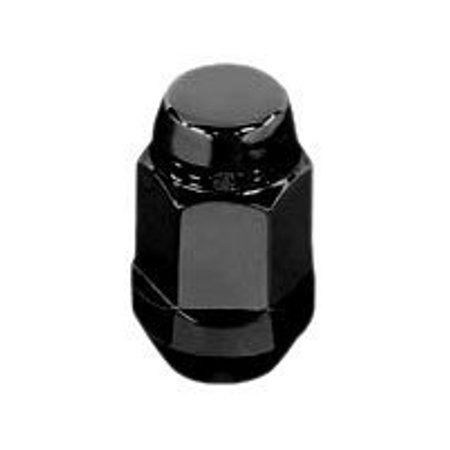 McGard 64029 Chrome/Black Bulge Cone Seat Style Lug Nut Set (1/2