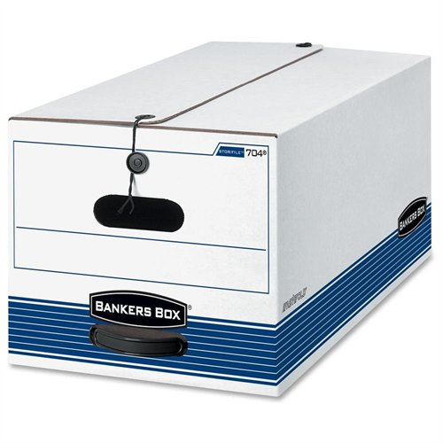 Fellowes Bankers Box Stor/file - Letter, String & Button ...