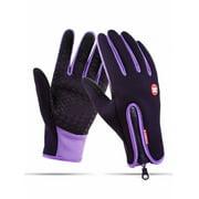 Lookwoild Men Women Winter Warm Gloves Windproof Waterproof Touch Screen Mitten