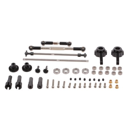 WPL Parts Set Front and Rear Gear Driver Shaft Pull Rod