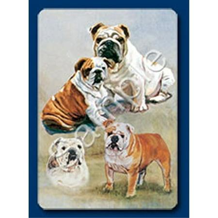 Bulldog Dog Playing Cards Designed by Ruth Maystead BLD-PC ()