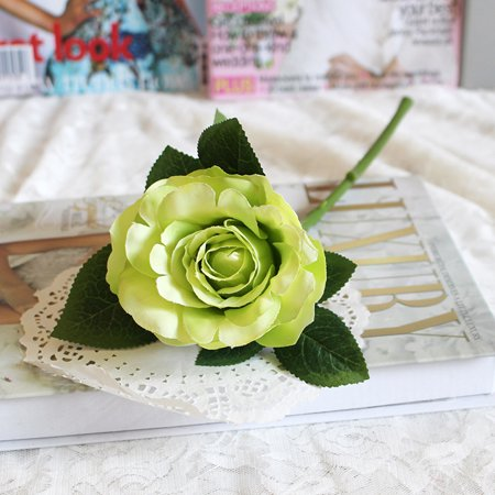 Artificial Silk Fake Flowers Roses Floral Wedding Bouquet Bridal -