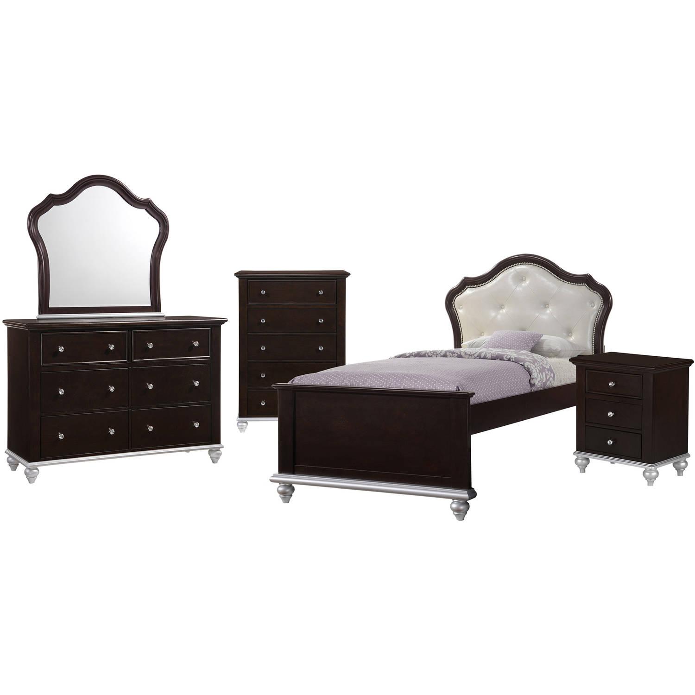 Picket House Furnishings Alli Twin Platform 5PC Bedroom Set w/ Storage Trundle