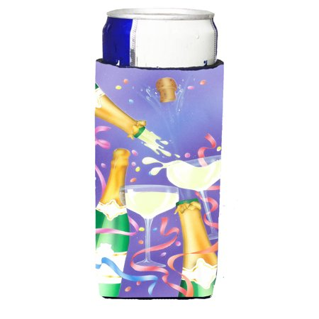 Celebrate New Years Toast Michelob Ultra beverage insulators for slim cans APH8555MUK