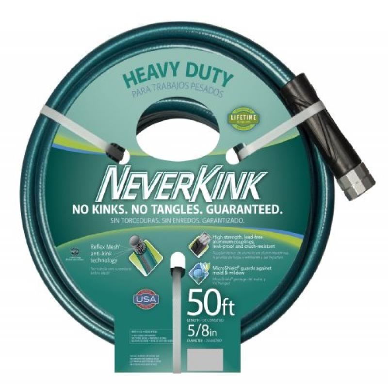 Teknor Apex NeverKink 8615-50 Series 2000 Ultra Flexible Garden Hose, 5/8-Inch by 50-Feet