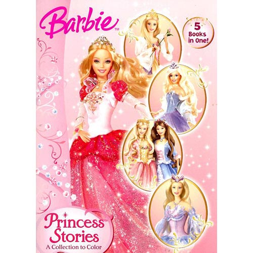 Princess Stories: A Collection to Color