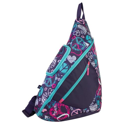 Eastsport Trap Backpack, Peace Print