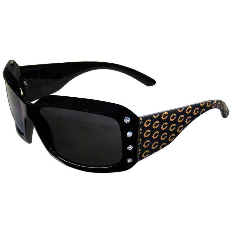 NFL Chicago Bears Women's Designer Sunglasses with Rhinestones