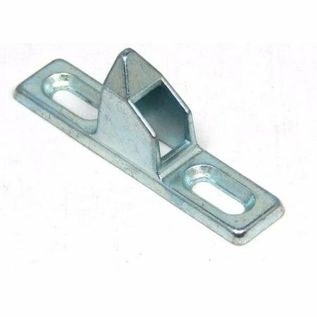 Half Round Door (Barton 21020176 Sliding Glass Door Keeper - Chrome 1/2