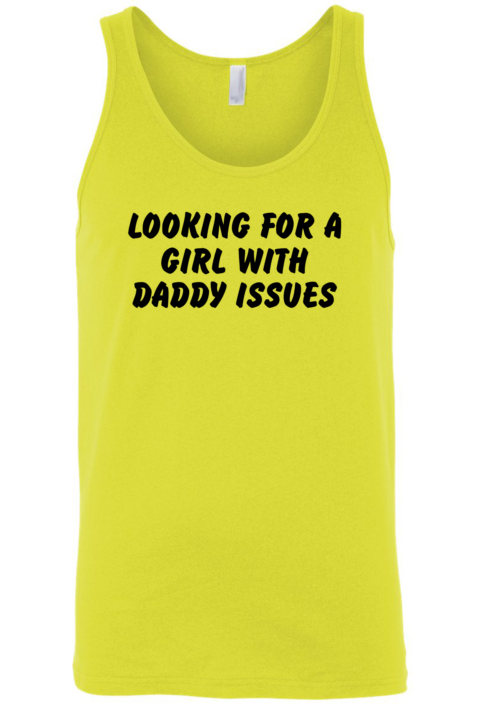 Men's Looking for a Girl w/ Daddy Issues Tank Top Shirt