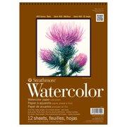 "Strathmore Watercolor Paper Pad, 400 Series, 9"" x 12"""