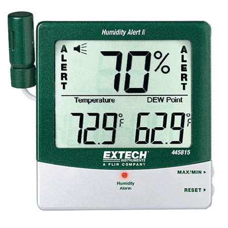 - Extech 445815-NIST Humidity Alert II Hygro-Thermometer w/DP w/NIST Certificate