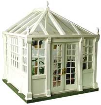 Dollhouse Conservatory Kit W/Base