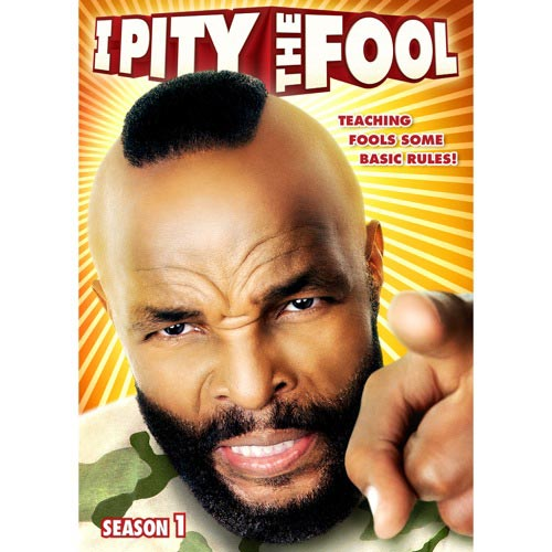 I Pity The Fool (Widescreen)