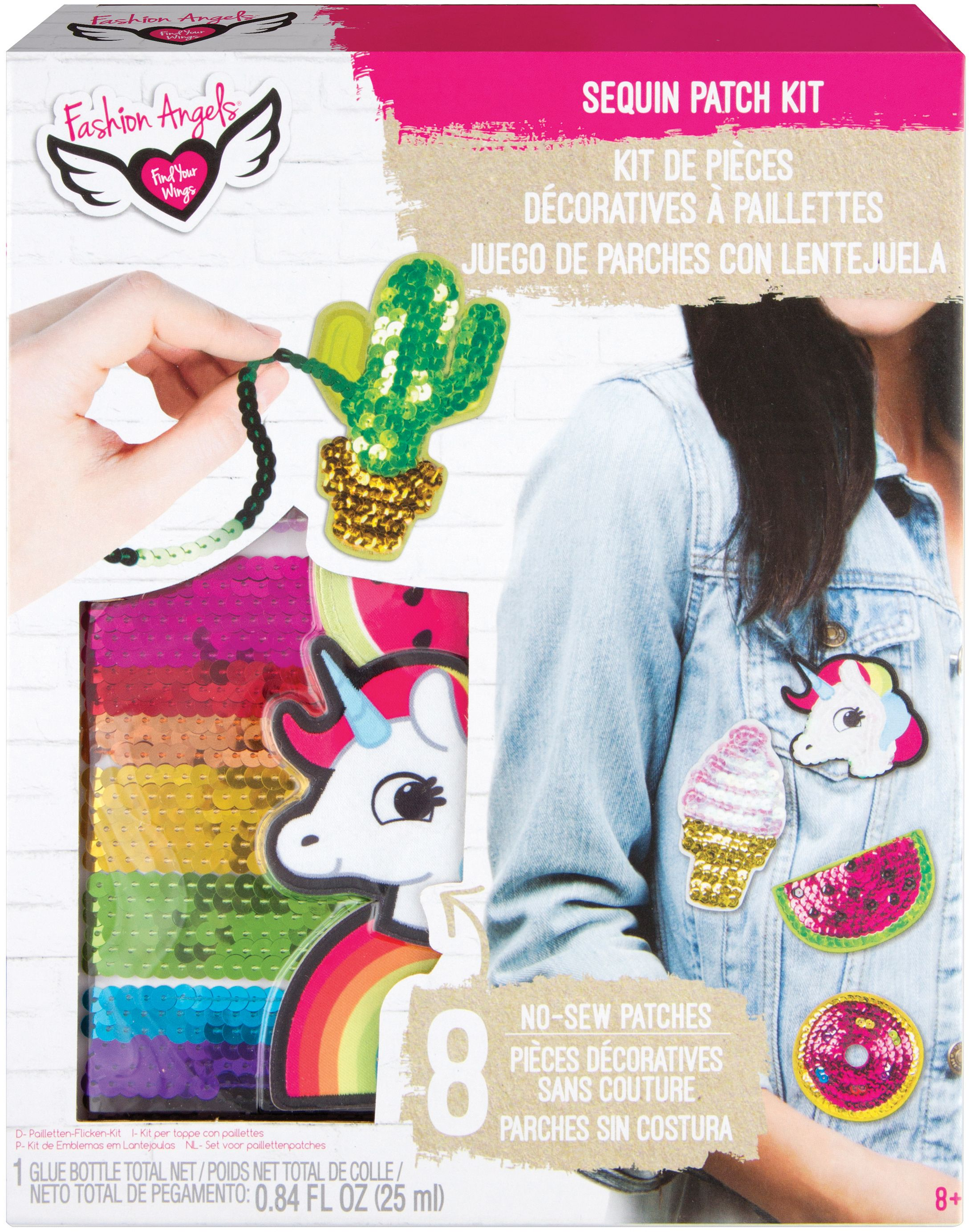 Sequin Patch Kit-
