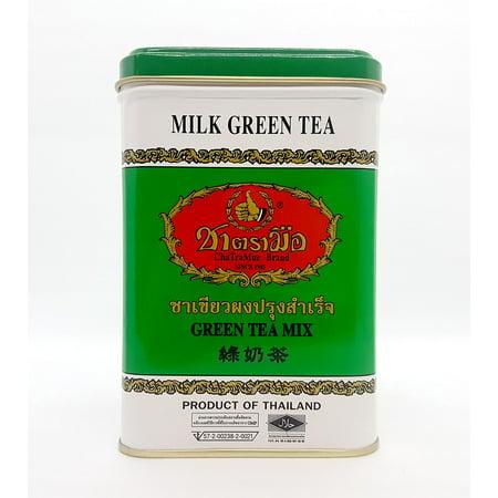 Number One ChaTraMue Hand Thai GREEN MILK TEA Sachet 50 Tea Bags 200 g. (4 g. X (Thai Milk Tea)