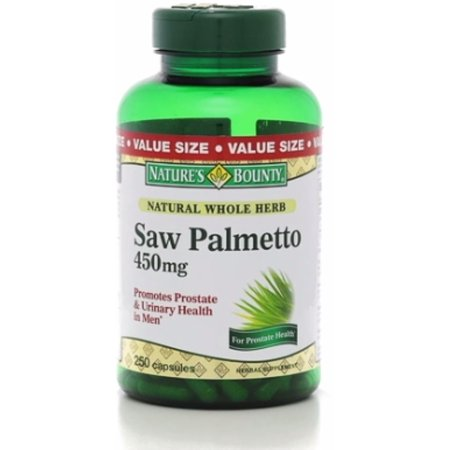 Nature's Bounty Saw Palmetto 450 mg Capsules 250 ea (Pack of 2)](City Of Palmetto)