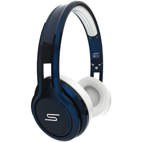 Sms Audio Street By 50 On-ear Headphones - Stereo - Blue - Wired - Gold Plated - Over-the-head - Binaural - Circumaural (sms-onwd-sprt-blu)