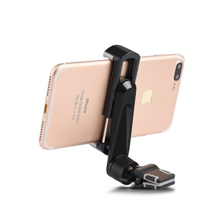 iCellCover Universal Air Vent Car Mount Holder W/ 360 Degree Rotatable Extension Arm & Swivel Head For Mobile Phone & Devices