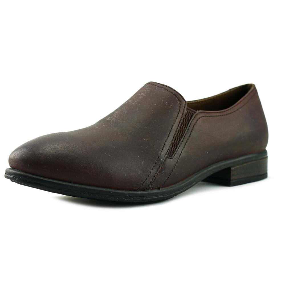 Eastland Carly Women Round Toe Leather Brown Loafer by Eastland