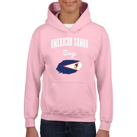 American Samoa Boy Youth Hoodie Hooded Sweatshirt thumbnail
