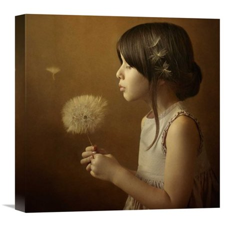 Global Gallery A Dandelion Poem By Svetlana Bekyarova Photographic Print On Wrapped Canvas