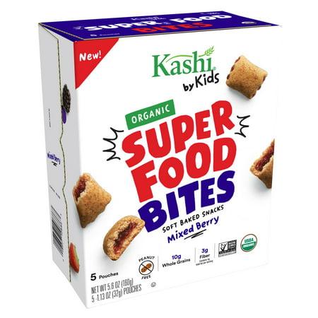 (2 pack) Kashi Kids Bites Berry Organic Snack Bites 5.6 Oz