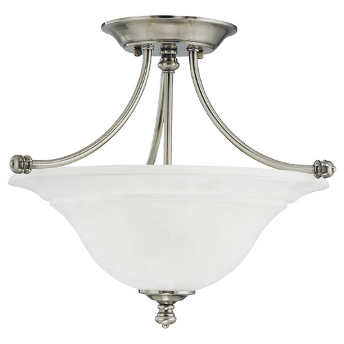 Thomas Lighting Harmony 2-Light Glass Semi Flush Mount by Thomas Lighting