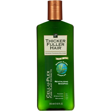 Thicker Fuller Hair Cell-U-Plex Revitalizing Shampoo, 12